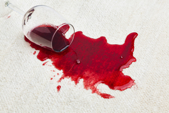 Removing Red Wine From Your Carpet